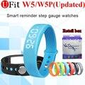 Ufit Apoio Rastreador Atividade Band W5 Inteligente Pulseira Pulseira Inteligente Pedômetro Monitor de Sono para o Esporte de Fitness Rastreador