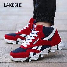Warm Winter Shoes Mens Fashion Sneakers Men Vulcanized Shoes Comfortable Soft Wear-Resistant Men Casual Shoes Male Shoes Adult
