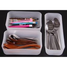 Adjustable Drawer Kitchen Cutlery Divider Case Makeup Storage Box Home Organizer Dropshipping Apr30(China)