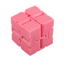 Newest Infinite Cube Fidget Infinity Cube Plastic Creative Magic Cubes Office Flip Cubic Puzzle Anti Stress Relax Toys