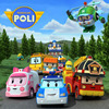 Hot Sale Robocar Poli Transformation Robot Car Toys Korea Robocar Poli Toys For Children Gifts 4pcs