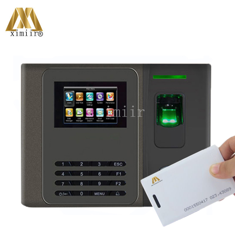 Good Quality XM200 Fingerprint Time Attendance With RFID Card,3G,ADMS,Webserver,backup Battery Smart Time Attendance Time Clock