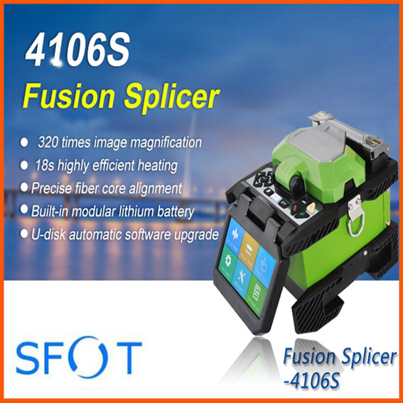 4106S Handheld FTTH High Precision Fusion Splicer