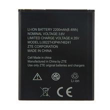 Origina High Capacity Li3822T43P4h746241 phone battery For ZTE Blade A465 A475 2200mAh смартфон zte blade a465 4g black