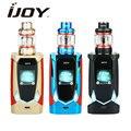 Kit de commande vocale d'origine IJOY Avenger 270 avec vaporisateur de réservoir 3.2 ml/4.7 ml Avenger Subohm Kit de vaporisation de Cigarettes E bobine X3