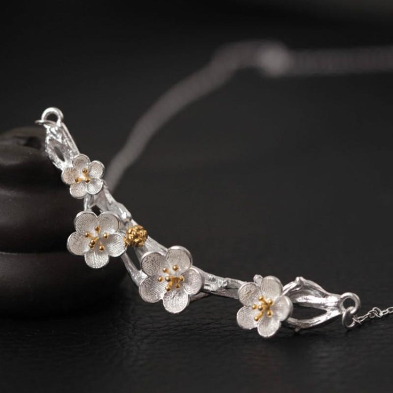 S925 Намистечко з натурального срібла - Вишукані прикраси