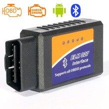 2016 Code Reader Super Mini ELM327 Bluetooth Odb2 Scanner ELM 327 Bluetooth Smart Car Diagnostic Interface ELM327 V2.1 Scan LR20