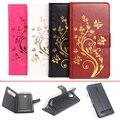 Para lenovo vibe c2 caso k10a40 5.0 polegada estilo de livro de luxo virar magnetic carteira de couro caso capa protetora para lenovo vibe c2
