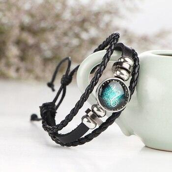 Bracelet en cuir signe du zodiaque totalement gratuit 1