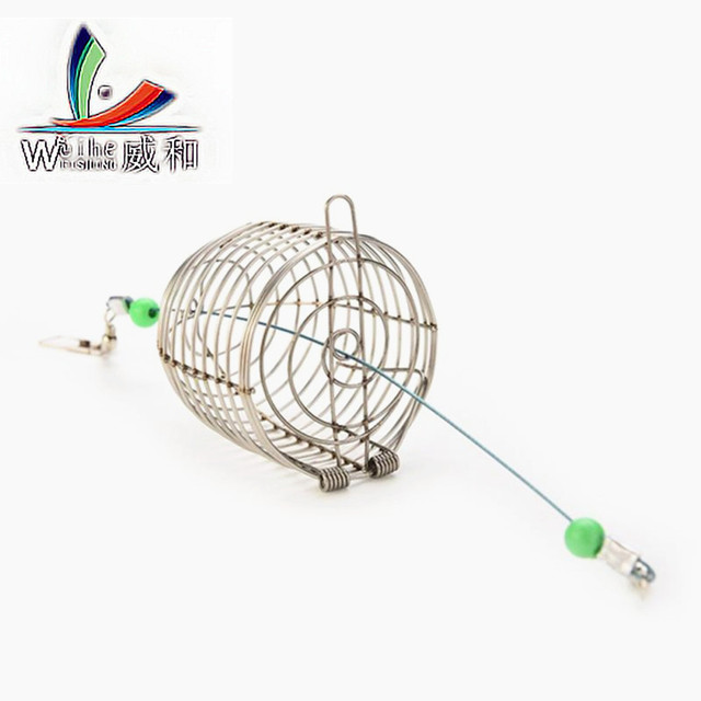 10Pcs Stainless Steel Wire Trap Pitfall Snare Hit Cage Fish Baits ...