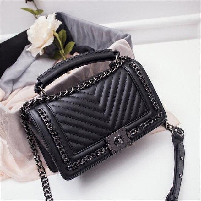 handbag red blue black white gray 5 color shoulder bag sac - Sac A Main Color