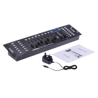 Lixada 192 Channels DMX512 Controller Console for Stage Light Party DJ Disco Operator controller Equipment