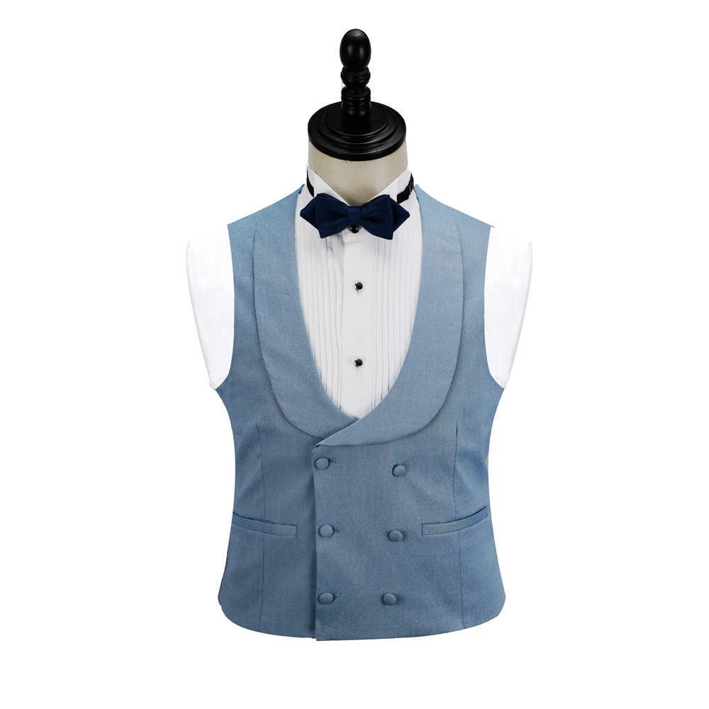 DARO dernier manteau pantalon conçoit des Tuxedos rose et bleu costumes pour hommes robe de mariée marié costumes de bal DR8191