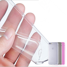 Free shipping font b 2018 b font new Crystal Clear Soft Silicone Transparent TPU Case cover