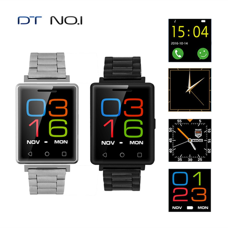 ФОТО NO.1 G7 Bluetooth 4.0 Smart Watch 1.54 Inch GSM Heart Rate Monitor Pedometer MTK2502 Removable Strap Smartwatch for iOS Android