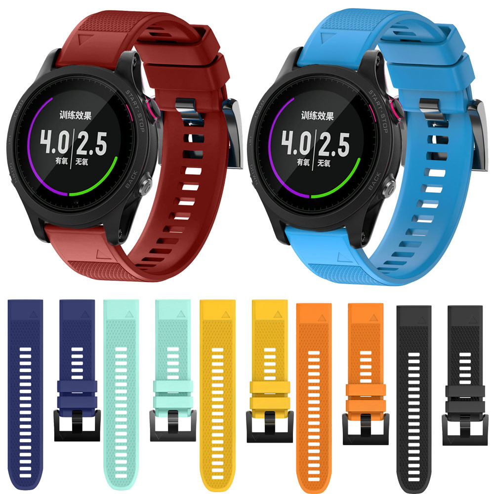 2018 New Luxury Watch Strap 22mm Replacement Silicagel Quick Release Kit Band Strap For Garmin Forerunner 935 Correas de reloj