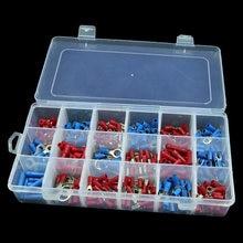 330 шт, набор вилок с полной изоляцией, u-образные клеммы, набор разъемов, набор электрических обжимных контактных материалов