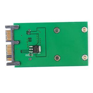Image 3 - Karta Mini PCI e PCIe mSATA 3x5cm SSD do 1.8 Micro SATA Adapter konwertera #55346