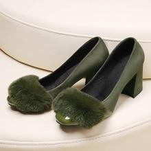 Toe cap covering font b women s b font shoes vintage plush shoes female shallow mouth