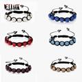 Fashion Shambhala Jewelry New Mix Colors Sales Promotion 10mm Crystal AB Clay Disco 9 Balls Shambala Bracelets