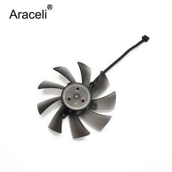 T129025SU 95mm 4Pin DC12V 0.38AMP Cooler Fan For ASUS Radeon HD7970 HD7950 DirectCU II Video Card cooling fan image