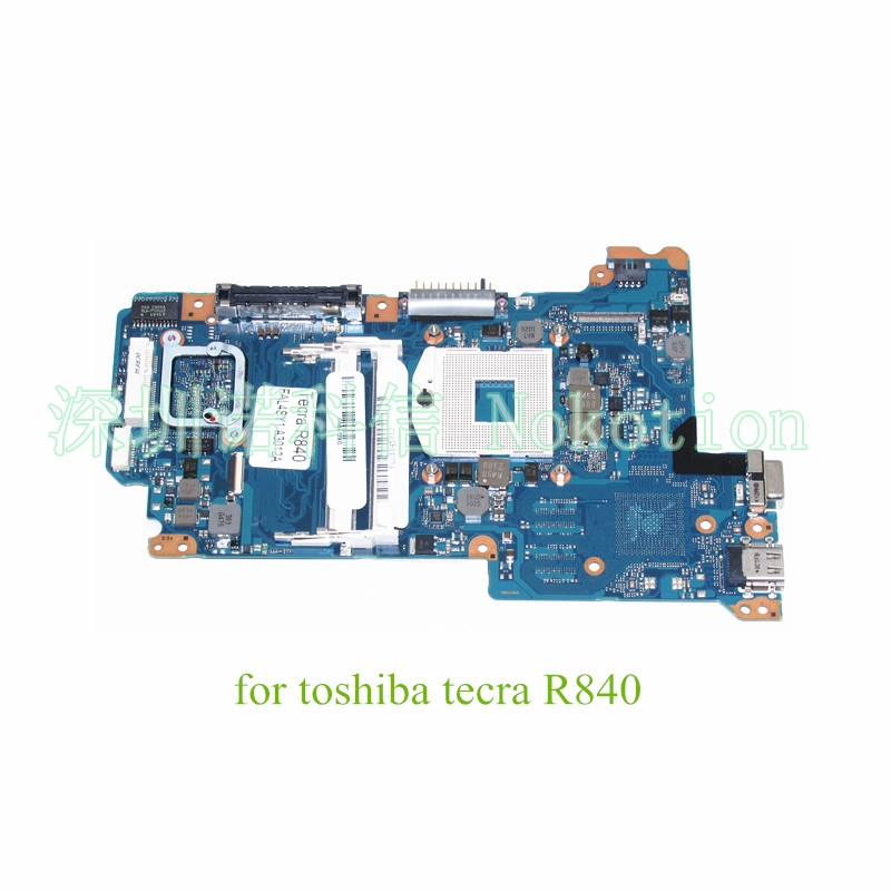 NOKOTION FAL4SY1 A3012 A laptop motherboard For Toshiba Tecra R840 QM67 DDR3 Mainboard for toshiba tecra m11 laptop motherboard integrated fgnsy1 a5a002769010 a stock no 999