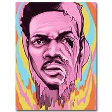 F046 Chance The Rapper Acid Rap Hip Hop Music Star Silk Light Canvas Painting Art Poster Wall Picture Print Home Decor