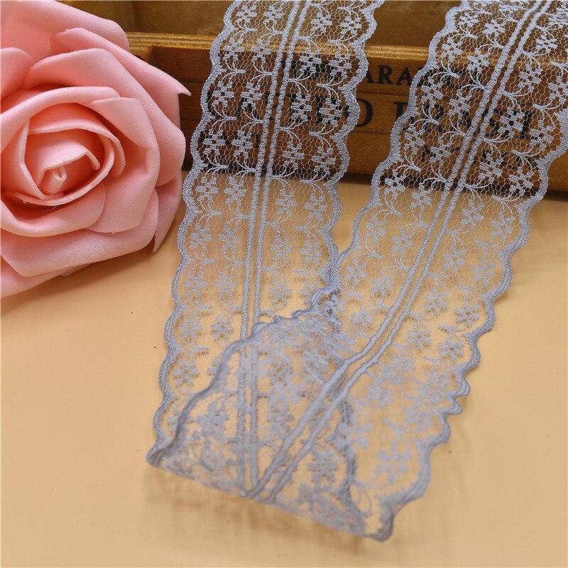 Wholesale 10 Yard Beautiful Handicrafts Embroidered Net Lace Trim Ribbon Lace