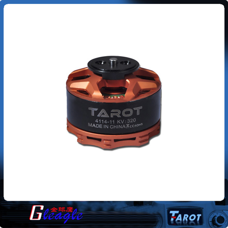 ФОТО Free Shipping 4114/320KV Multi Axis Brushless Motor / Orange TL100B08-02 for Rc Helicopter