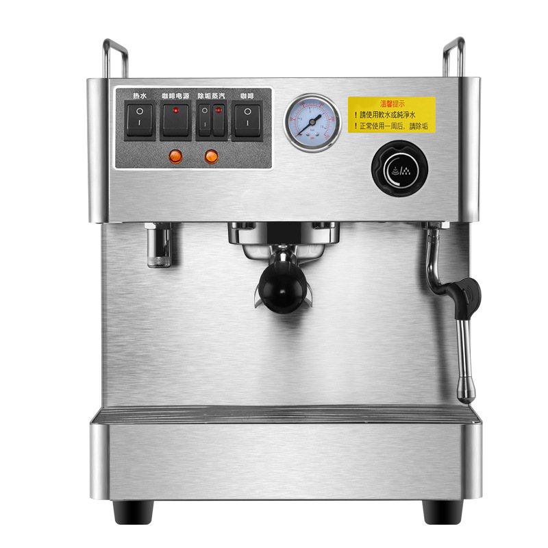 No tax !Pump fed Automatic Espresso Coffee Machine For Commercial Office  Coffee Maker 15 cups one time
