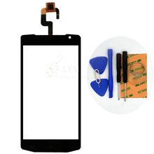 Black TP for Oukitel K10000 5.5″ Touch Screen Digitizer Front Glass Panel Sensor No LCD Phone Replace Part Free Shipping+Tools