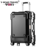 Metal Frame Carry on Luggage Valise Cabine Rolling Travel Cheap Suitcase Valiz Bavul Seyahat202429Spinner Cases Boarding Case