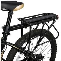 XC USHIO Mountain Bike Bicycle Cargo Racks Aluminum Bicycle Luggage Carrier MTB Bicycle Mountain Bike Road Bikes Rear Rack Black
