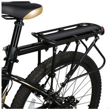 Win XC USHIO Mountain Bike Bicycle Cargo Racks Aluminum Bicycle Luggage Carrier MTB Bicycle Mountain Bike Road Bikes Rear Rack Black occupation