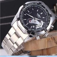 2017 Fashion Men S Automatic Mechanical Calendar Wristwatch Man Stainless Steel Relogio Masculino Luxury Casual Wrist