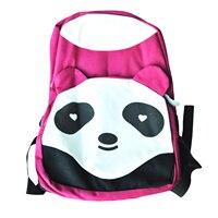 Для женщин панда Стиль рюкзак Школьные ранцы Холст Bookbag Рюкзак