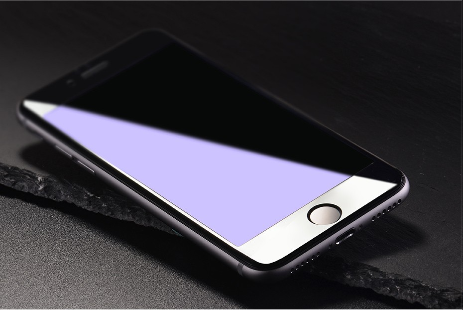 HOCO Full Cover Anti Scratch Glass Film For Apple iphone 6 6S White Black Protective Film For iphone 6 6s plus 3D soft edge_14