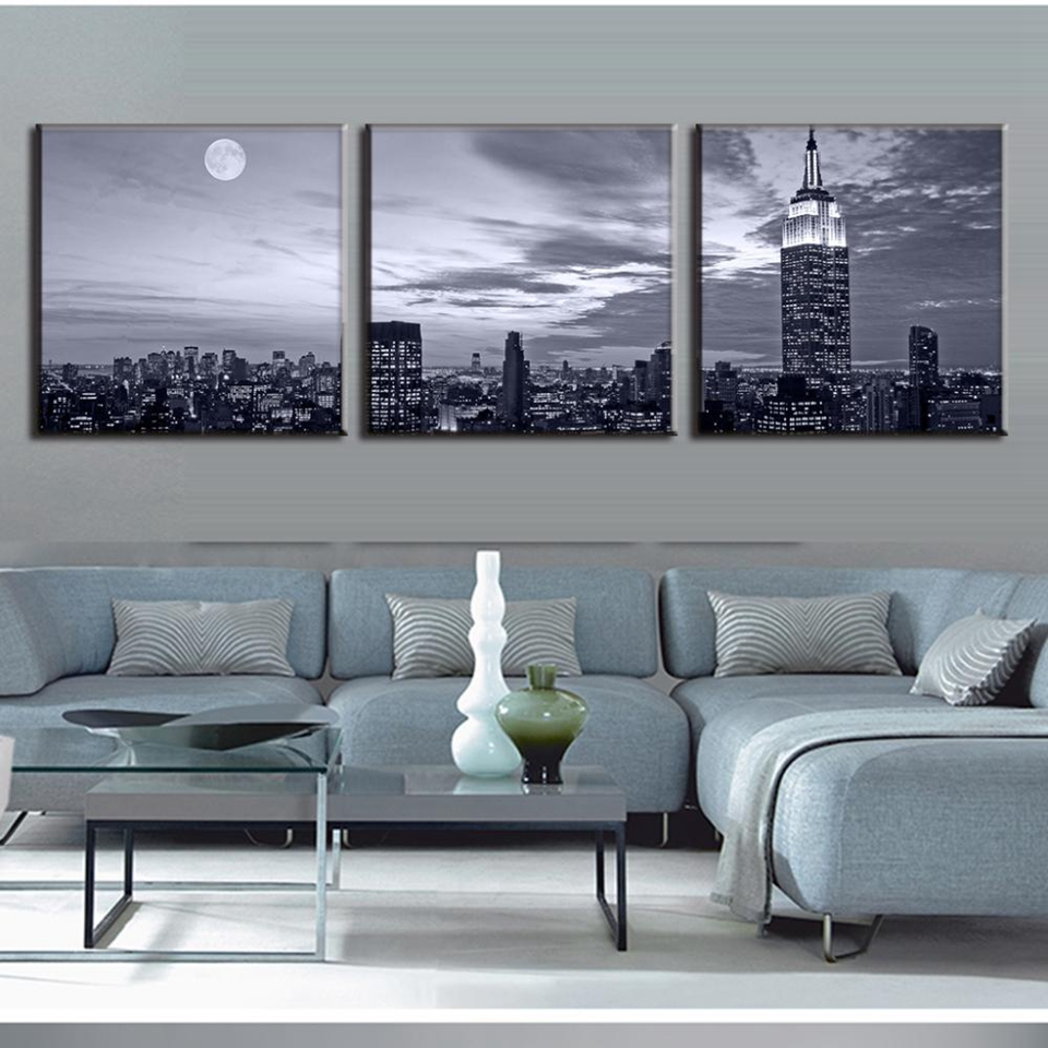Wall Art Pictures Home Decor Posters Frame 3 Pieces New