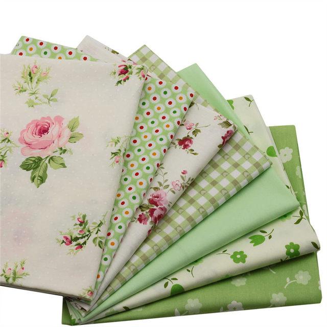 2017 heißer Verkauf Baumwollgewebe Patchwork Hand Textil Green ...