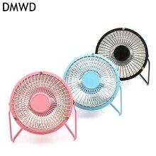 DMWD Household Small Size Heater Warm Electric Desktop Fan Heated Warmer For Winter Bedroom Office