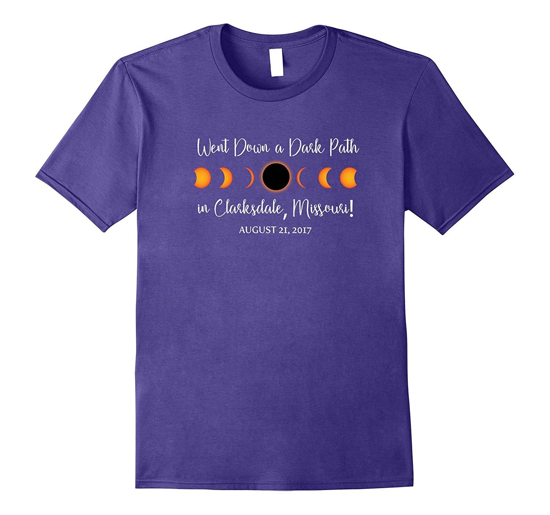 GILDAN Clarksdale, Missouri 2017 Solar Eclipse TShirt, T Shirt, Tee Mothers Day Ms. T-shirt