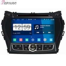 Top Newest Quad Core S160 Android 4 4 Car DVD Navigation For IX45 With Mirror Link
