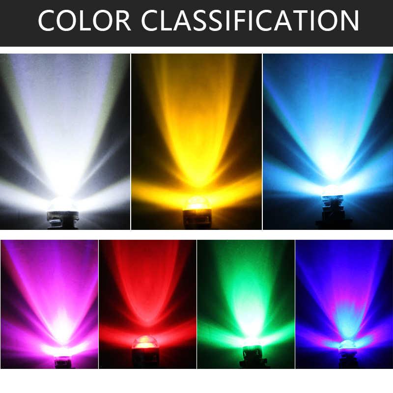 1PC T10 168 194 2825 W5W LED untuk Chip Led Penggantian Lampu Plat Nomor Mobil Parkir Lampu Styling Lampu mobil Styling