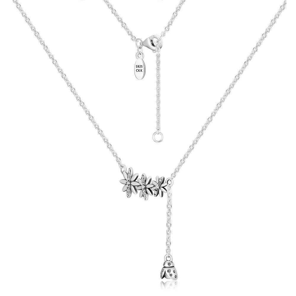 CKK 925 стерлингового серебра ювелирные изделия Spritime ожерелья подвеска «сделай сам» для женщин Бесплатная доставка