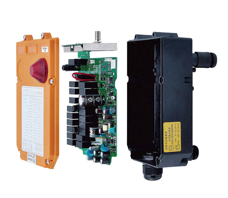Switch F24-12D for hoist crane 1 transmitter and 1 receiver industrial wireless redio remote control Switches