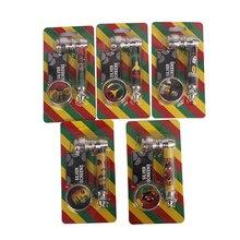 1 Pcs Smok Metal Pipes Smoke Portable Creative Smoking Pipe Herb Tobacco Pipe Gi
