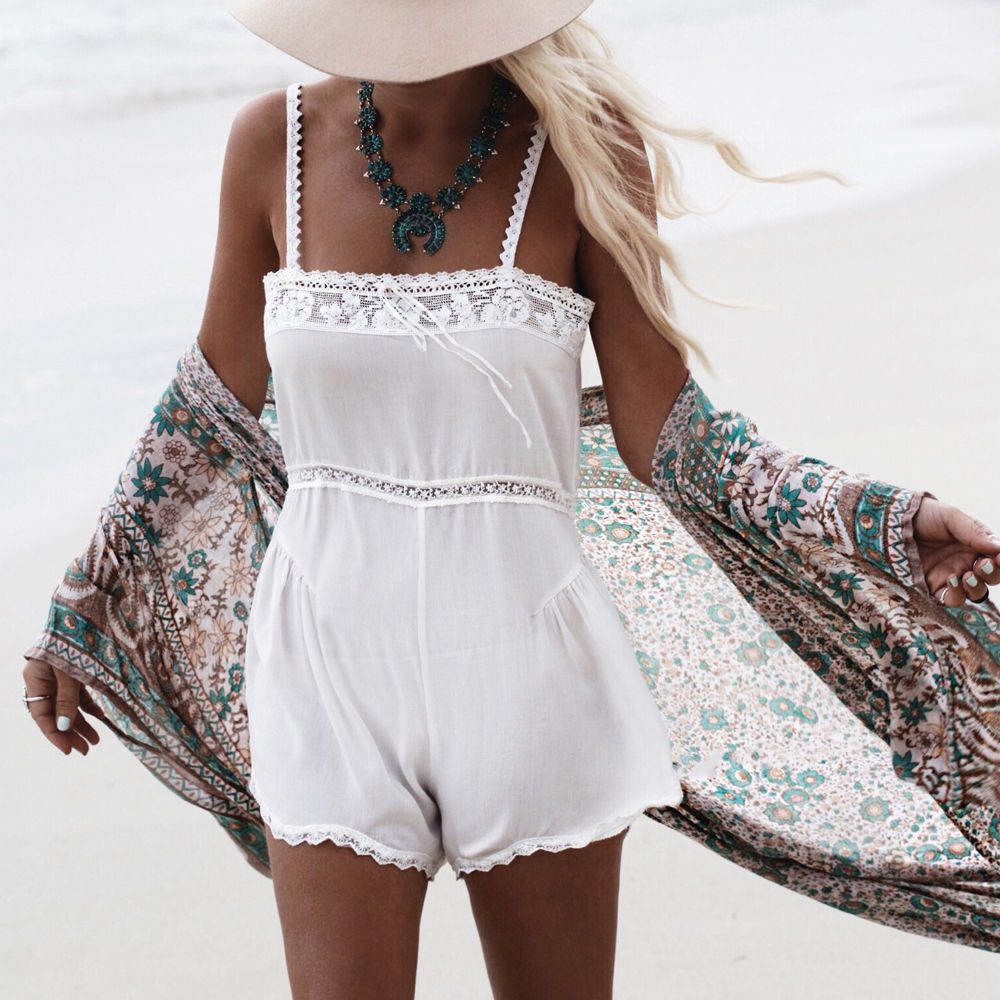 Lovely Hippie Boho People Summer Beach Swimsuit Swimwear Bikini Cover Up Blouse Bathing Sophisticated Technologies Women's Clothing