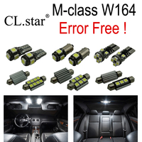 14pc XCanbus Error Free LED Interior Light Kit Package License Plate For Mercedes Benz M Class