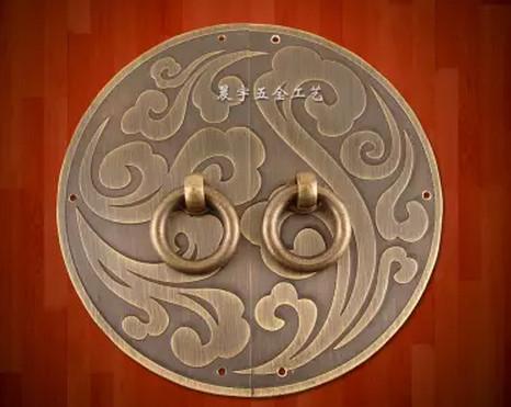 Chinese Style Round Fancy Door Handle Copper Hardware Fittings Cabinet U0026 Window Handles