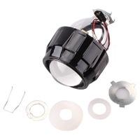 Car Styling HID Projector Lens Mini HID Bixenon H1 Projector HeadLight Lens Suitable for H4 H7 Car Headlight House